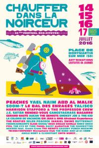 Affiche Festival Chauffer dans la Noirceur - Coutances Tourisme