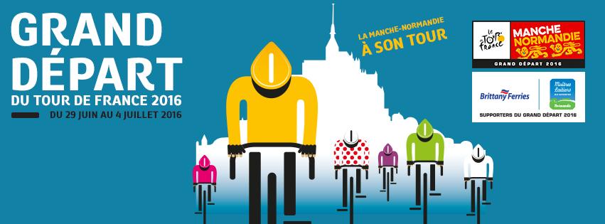 Tour de France 2016 Coutances Normandie
