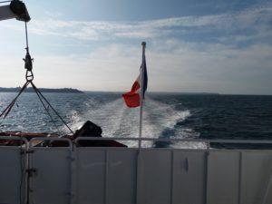 Jersey Coutances Tourisme traversée