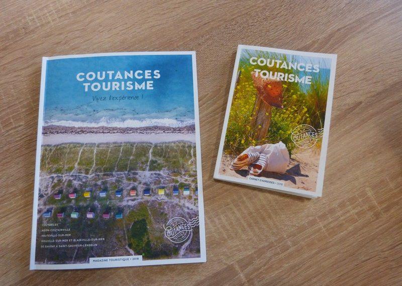 En exclu pr sentation des brochures 2018 de coutances tourisme - Office de tourisme coutances ...